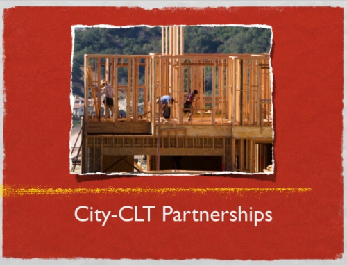 City-CLT Partnership Workshops