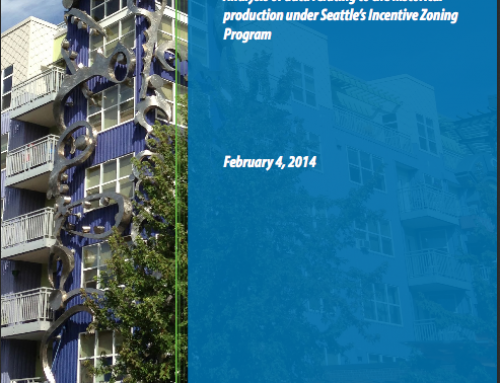 Seattle Incentive Zoning Study